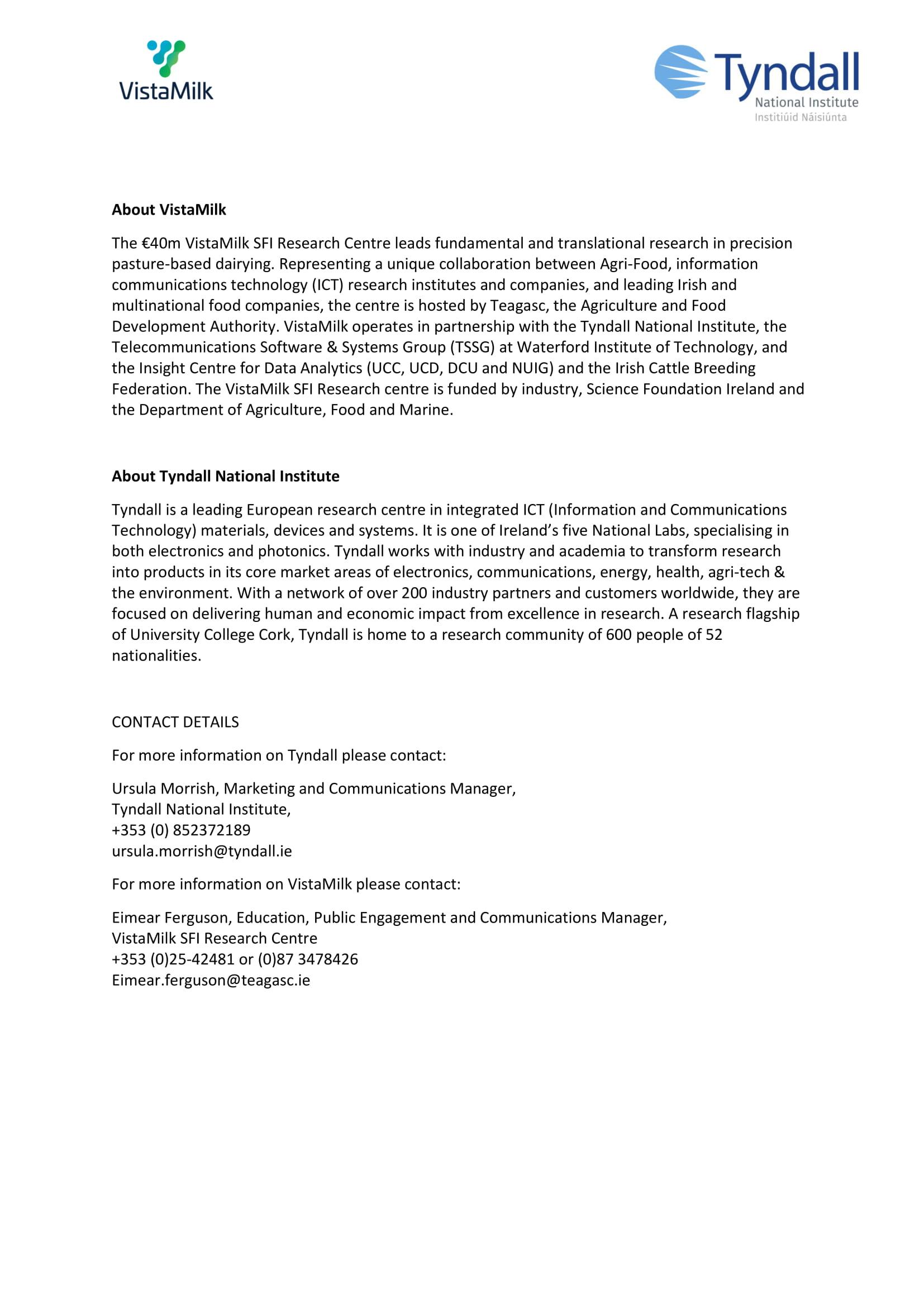 FPT Detection Devices | VistaMilk